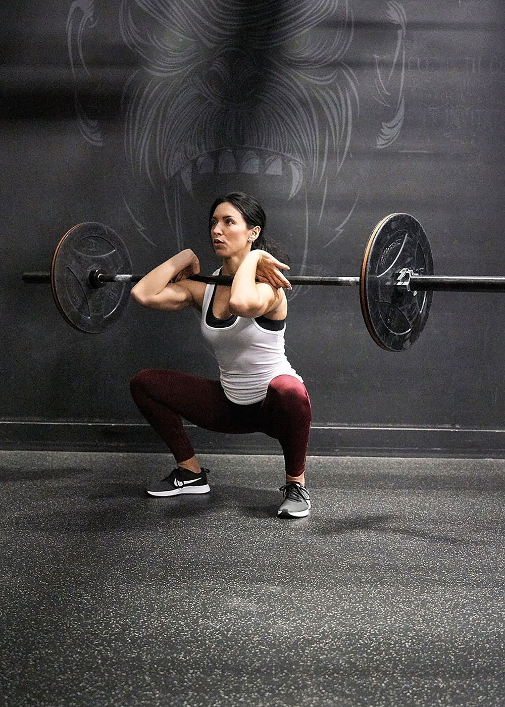 From Onnit (also, it is freaking HARD to find a picture of a women doing a PROPER squat on the internet)