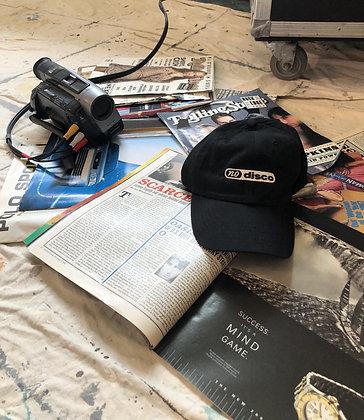 nodisco. embroidered dad hat.
