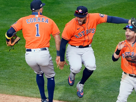 The Houston Astros forces a Game 7 against the Tampa Bay Rays