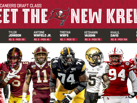 The Buccaneers Put Another Check in the Win Column with their 2020 NFL Draft