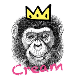CREAM ON CROWN