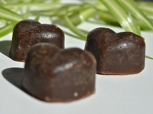 Heart of Orange and Chocolate Soap