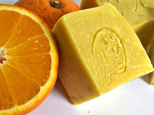 Lemongrass and Orange Shampoo Bar