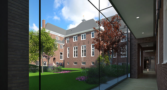 Walenweeshuis transformation, artist impression, Studio C