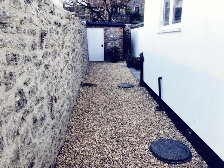 Gravelled Pathway - After