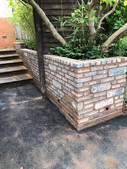 Garden Wall (around planters)