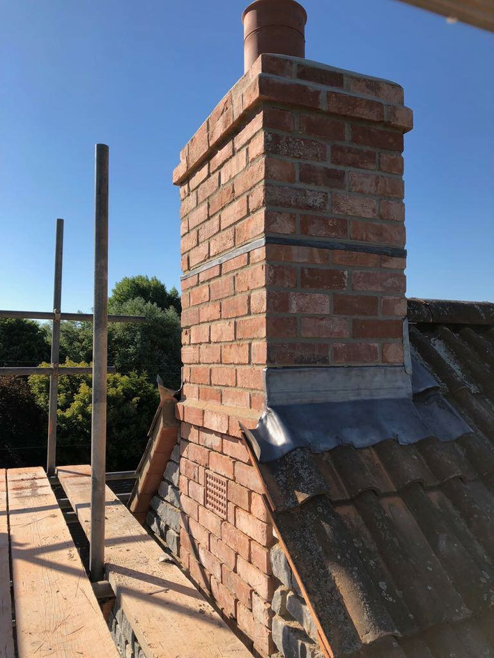 New Build Chimney
