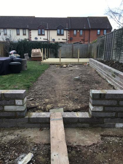 Garden Renovation in Progress