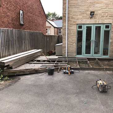 Before: Decking