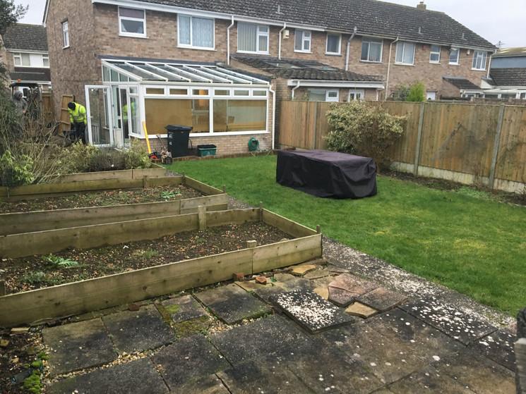 Garden before Renovation