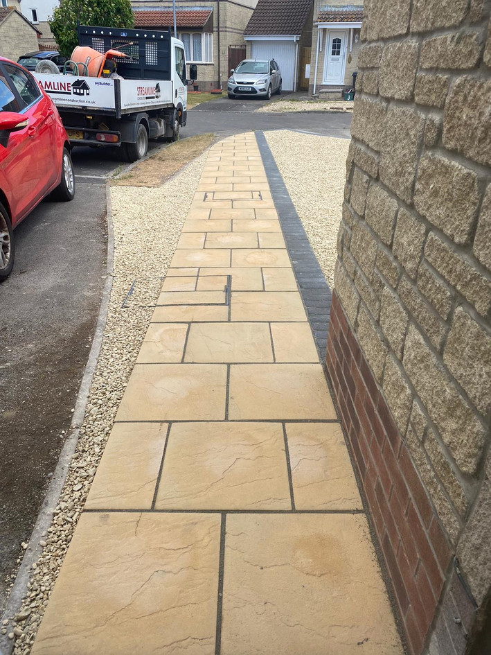 Finished Walkway - Front View