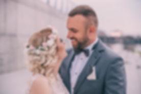 plener ślubny bulwary wiślane