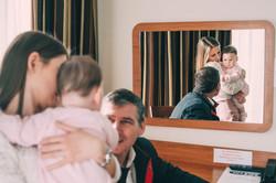 przygotowania do chrztu świętego zdjęcia reportażowe