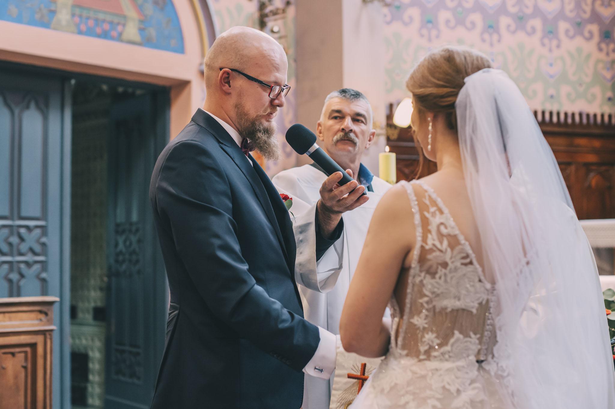 retro ślub reportaż