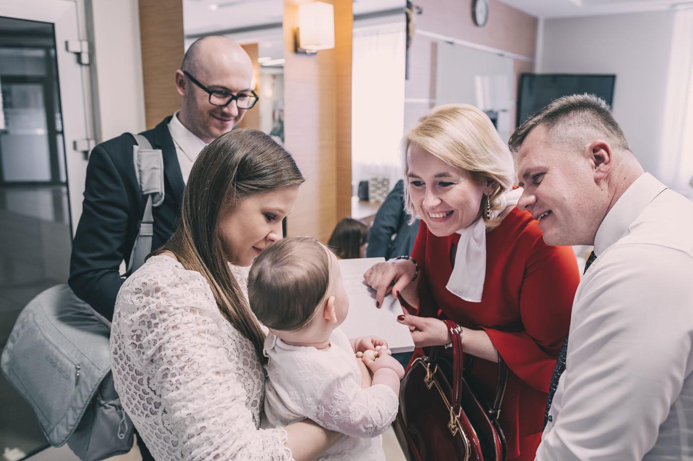 fotoreportaż z chrztu świętego Warszawa