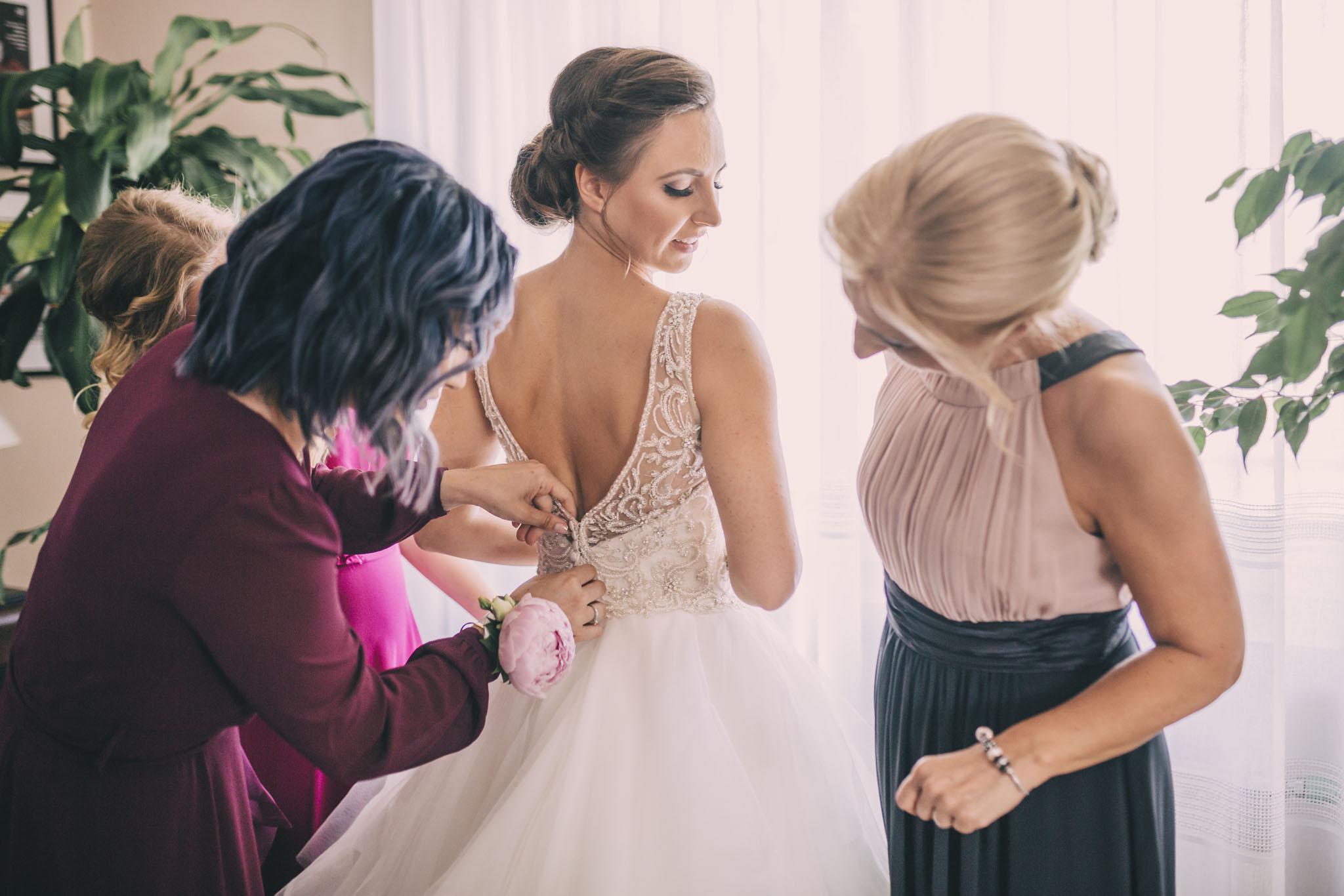 przygotowania ślubne reportaż