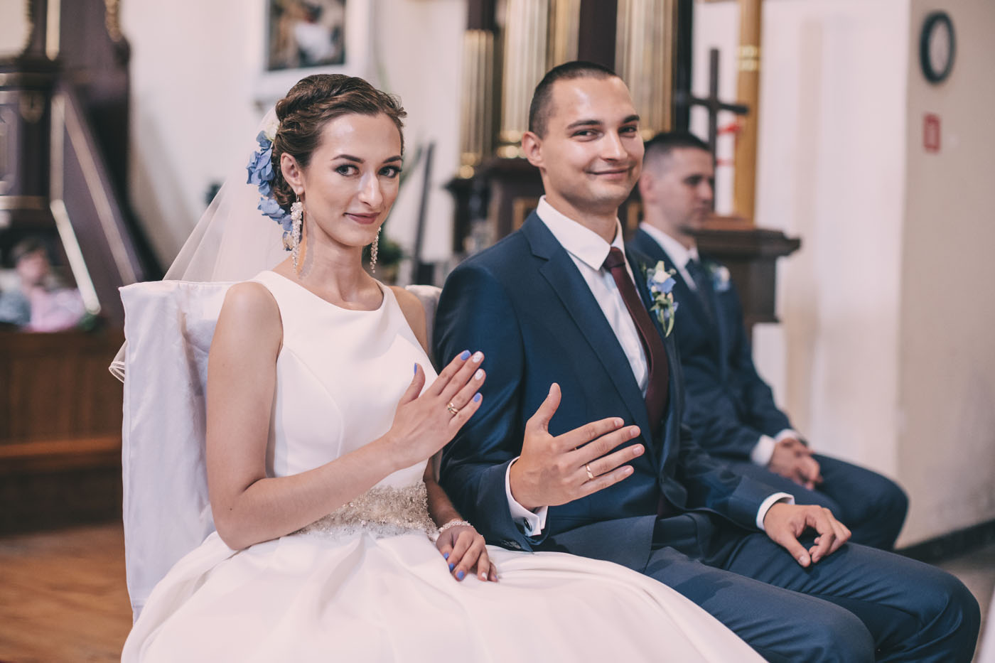 reportaż ślubny w stylu glamour fotograf ślubny Warszawa