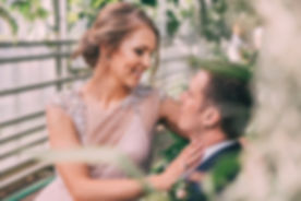 plener ślubny w dniu ślubu