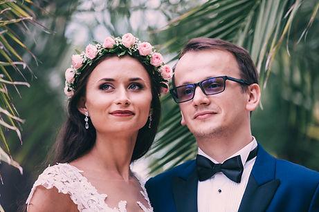 plener ślubny park w wilanowie