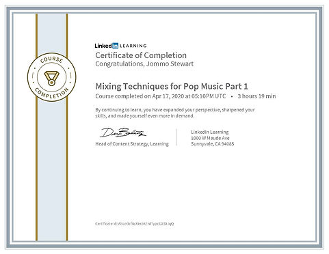 CertificateOfCompletion_Mixing Technique