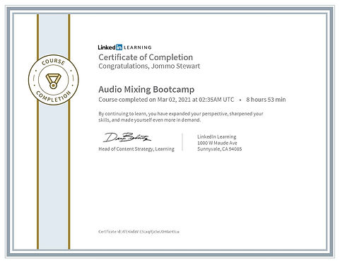 CertificateOfCompletion_Audio Mixing Boo