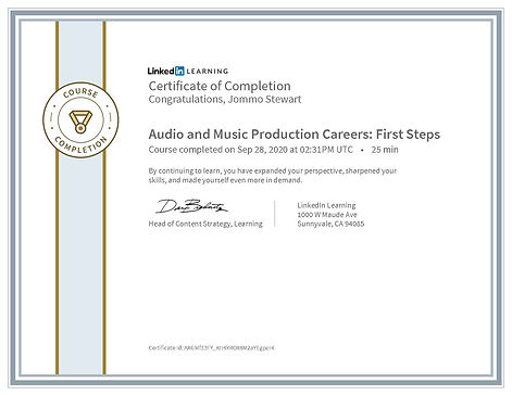 CertificateOfCompletion_Audio and Music