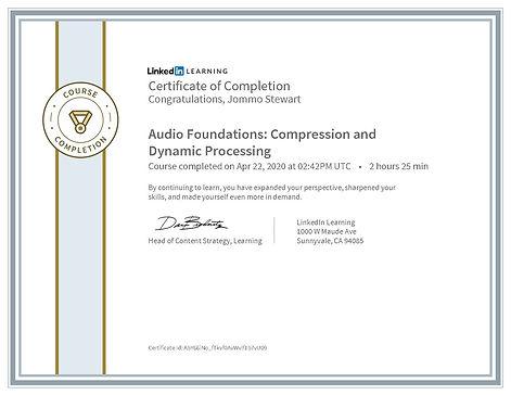 CertificateOfCompletion_Audio Foundation