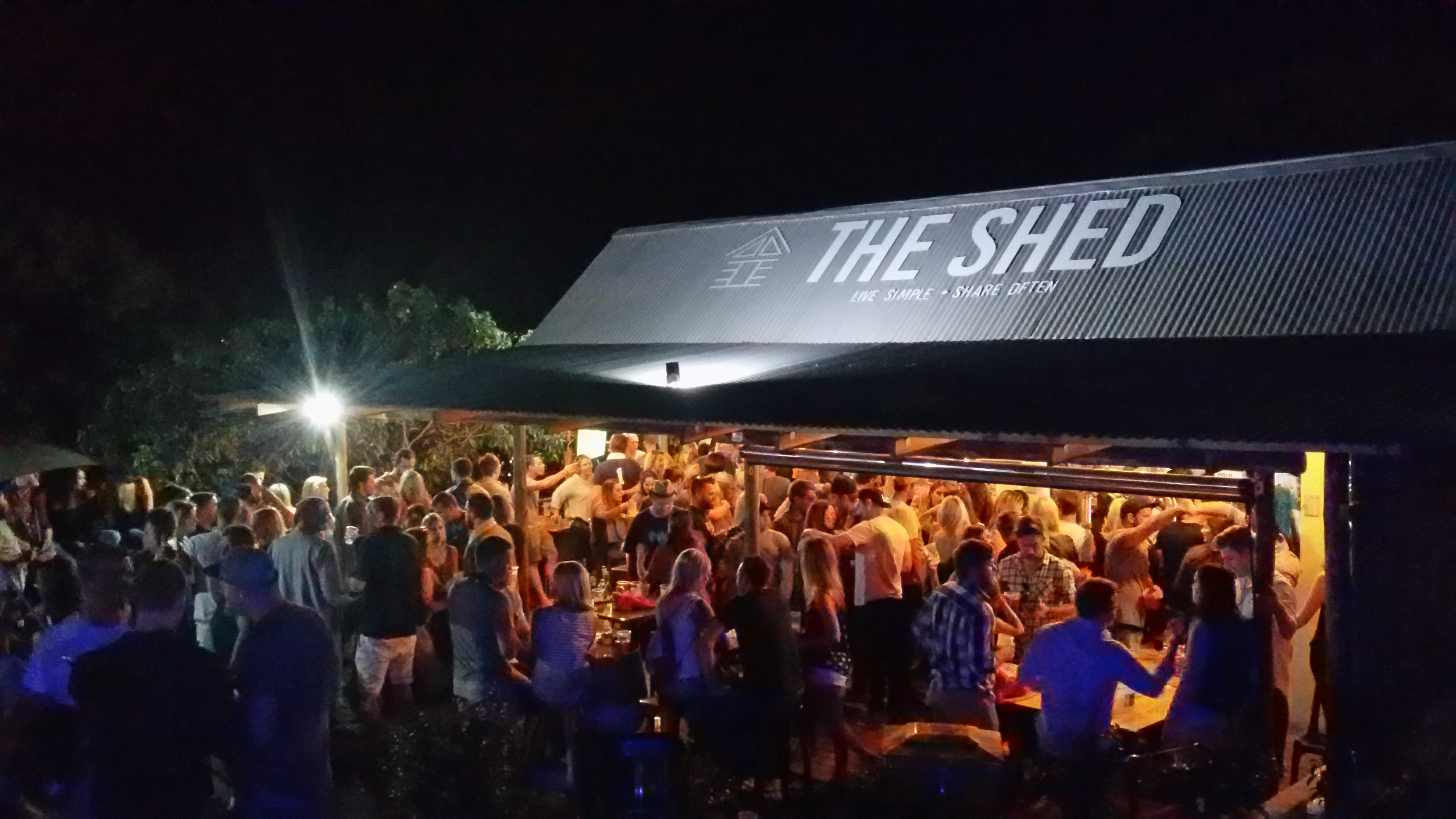 Night at The Shed