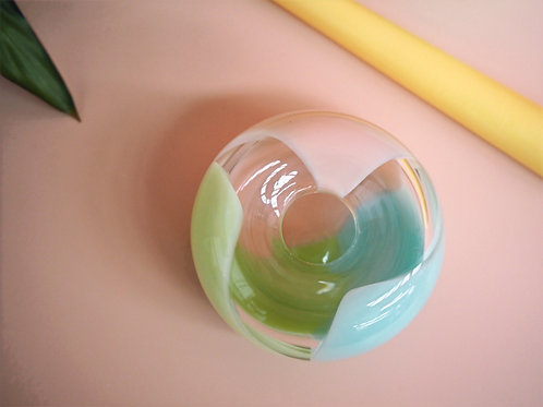 Colour Puff - Candle Holder in Meadow