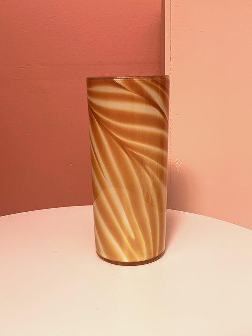 Foilage Vase in Amber