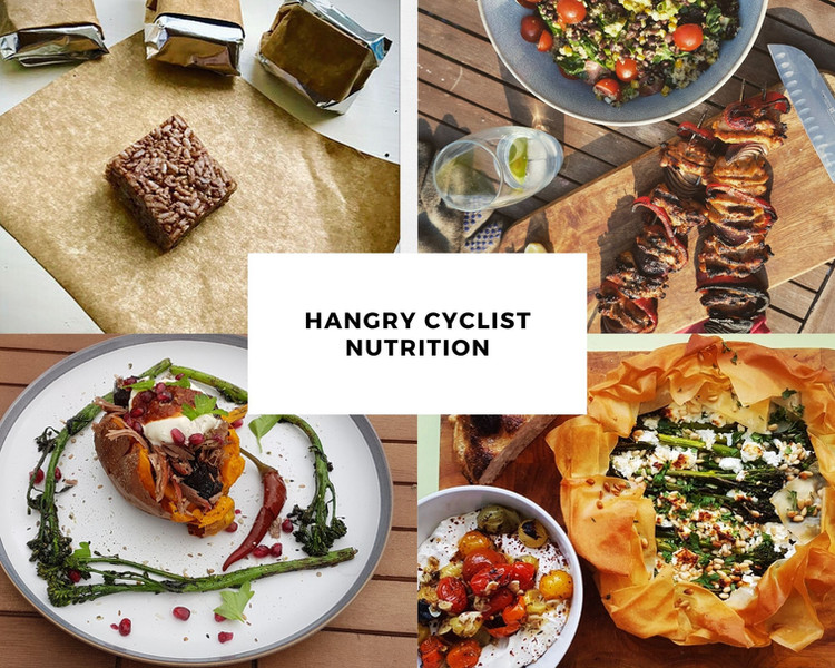 Hangry cyclist nutrition - on and off the bike