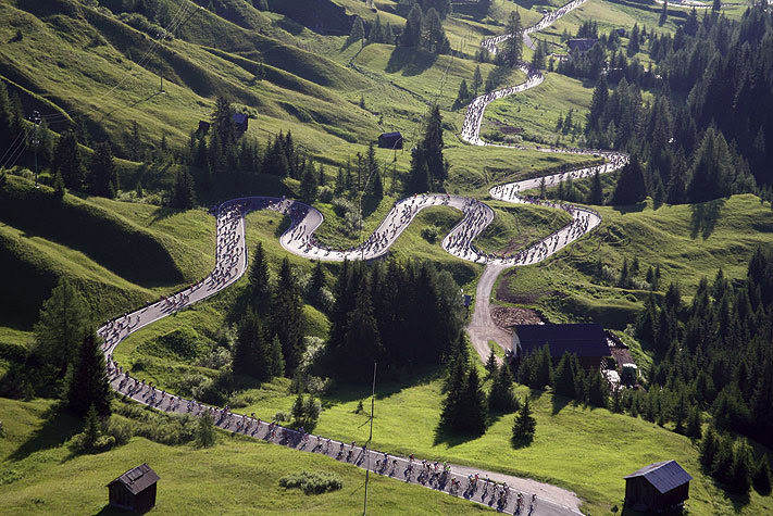 Epic roads and climbs
