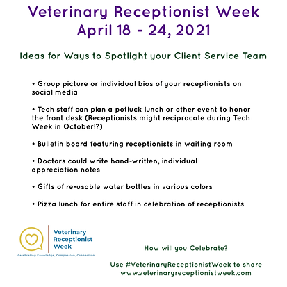 Vet Receptionist Week Ideas for Celebrations on a Budget