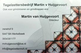 Tegelzettersbedrijf Martin v Huijgevoort, Merkelbeek