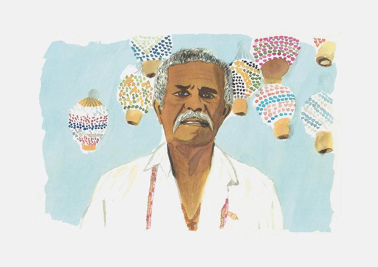 Retrato de Ogan Bangbala