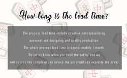 1 lead time