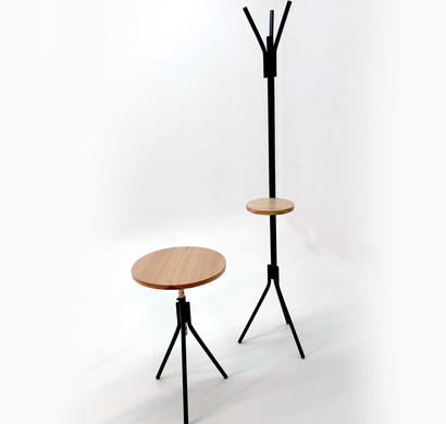 Estrato. Mesa y Perchero.