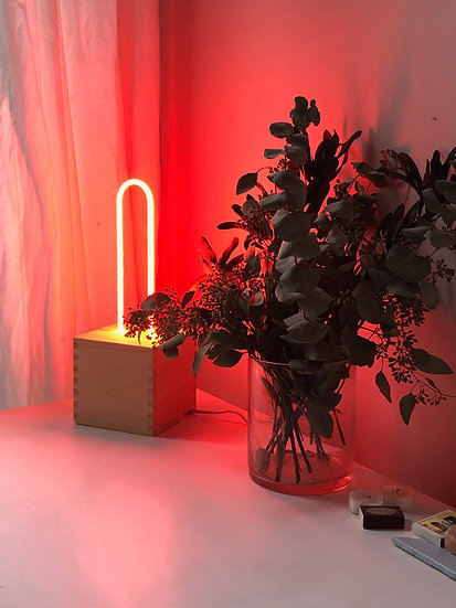 Juicy Red Mini-Lamp