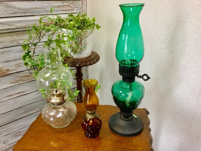 Glass Oil Lamp