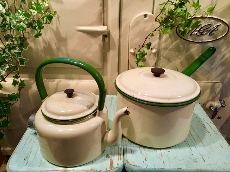 Enamel Kitchen ware