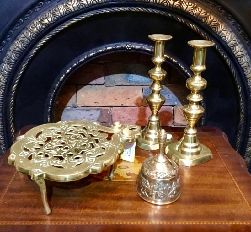 Brass Pot stand/Brass Candle stand pair/