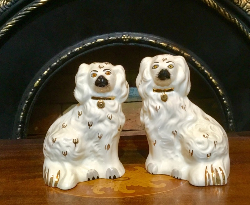 Staffordshire dog pair Beswick