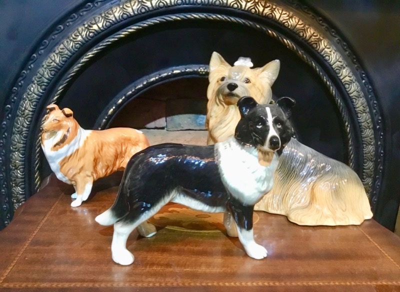 Dog dollStaffordshire dog pair Beswick
