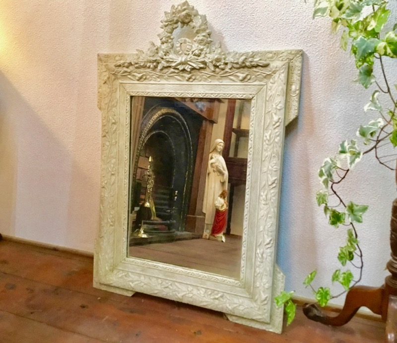 French Wall Mirror 1800年代