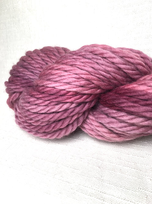 Big Pine purple yarn - super bulky