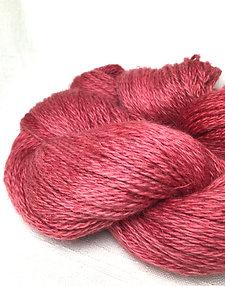 CR cranberry yarn - sport - wool/hemp