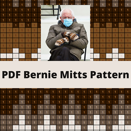 PDF Pattern - Bernie Mitts