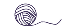 transparent background and dusty purple