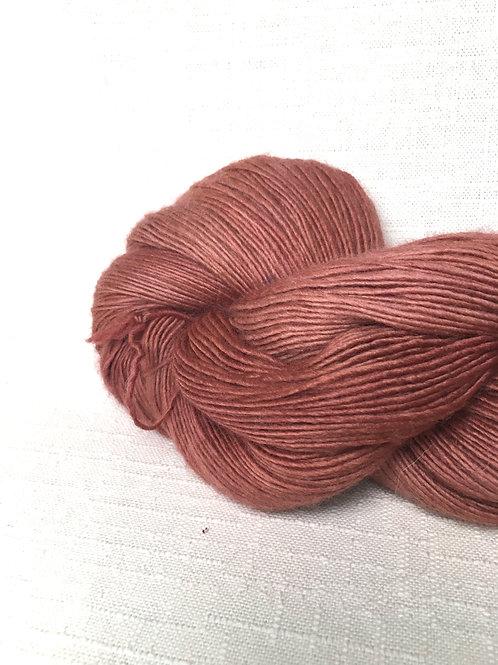 CM rose yarn - sock weight/fingering wool