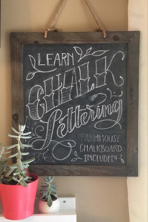 Chalkboard  Hand-Lettering Class